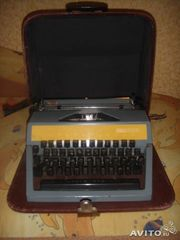 печатная машинка....